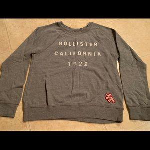 Hollister crop sweatshirt